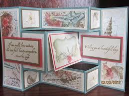fold card tri fold cards km creative