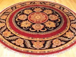 image of round area rugs target livingroom