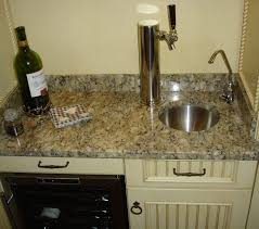 wet bar sink and cabinets custom wet bar sink amp beer tap home decor ideas