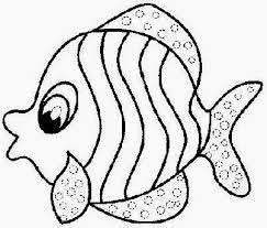 Coloring Pictures Of Fish Free Coloring Pictures