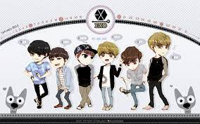 Exo Cartoon Mama Wallpapers posted by ...