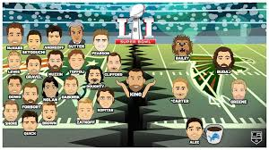 La Kings Make Super Bowl Li Picks 2017