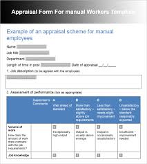 employee performance review template pdf documents employee performance review template