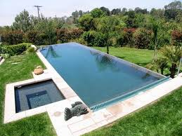 Perfect Infinity Pools Edge Landscaping For Raised Wall Of Pool Vanishing In Concept Ideas