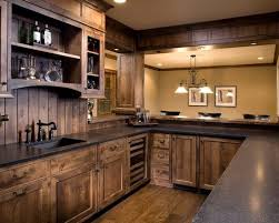 wood kitchen cabinet ideas.  Kitchen Kitchen  Ideas Dark Wood Cabinets Backsplash  Cabinet Intended H