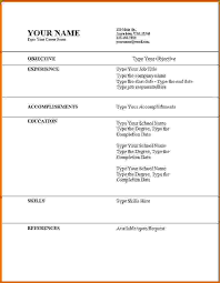 How To Make A Cv For Job 12 How To Make A Simple Cv For Job Lease Template