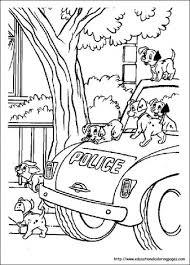Politie Kleurplaten