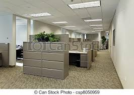 office with cubicles. Office Space With Cubicles - Csp8050959 Office