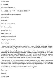 A birthday letter in handwriting would give it a personal touch as compared to a birthday letter that is typed. Best Teaching Cover Letter Examples How To Write Complete Guide