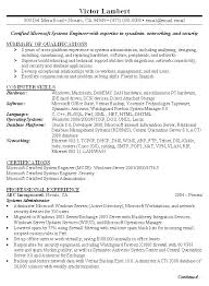 Resume Format For Linux System Administrator Resume Format For