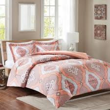 Buy Bedding Full Comforter Sets from Bed Bath & Beyond & Intelligent Design Claudine Reversible Twin/Twin XL Duvet Cover Set in Coral Adamdwight.com