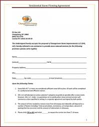 Snow Removal Bid Template 004 Snow Removal Bid Template Lovely Plowing Contract