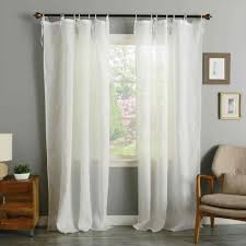 kids curtain rods diy evelyn linen blend ruffle bottom evelyn pottery barn blackout curtains kids