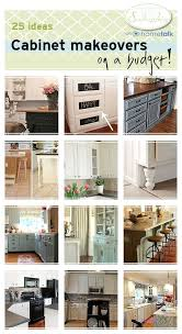 diy kitchen furniture. 25 Kitchen Cabinet Transformations On A Budget My Uncommon Slice Of Suburbia Diy Furniture