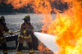 Firefighters combine forces, improve life-saving skills > U.S. Air ...