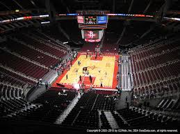 Toyota Center Tx View From Upper Level 417 Vivid Seats