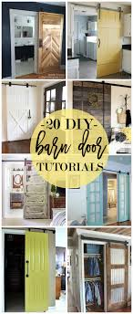 Diy Barn Doors 20 Diy Barn Door Tutorials