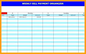 Tracking Calendar Template Bill Pay Equipped Payment Templates