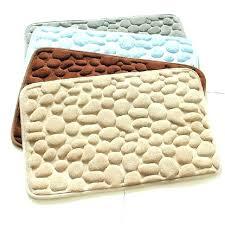 rubber backed bathroom rugs rubber bathroom floor mat bath rug pebbles natural rubber bath mat bottom