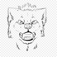 gray wolf face drawing. Modren Drawing Gray Wolf Line Art Drawing Painting Sketch  Painting In Wolf Face P