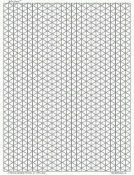 Isometric Drawing Graph Paper 2mm Gray Full Page Port A5