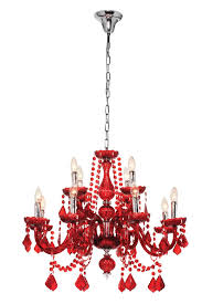 fabulous red chandelier on modern home interior design ideas with with regard to modern red chandelier