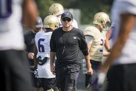 UW coach Jonathan Smith to Oregon State? 'It's flattering' but says focus  is on Huskies | The Seattle Times
