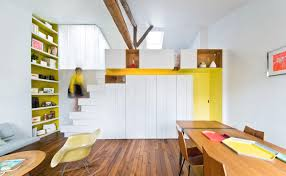 Modern Paris Apartment: Let style rule lenny in paris. Black metal ...