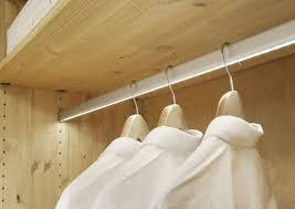 led closet lighting. LED Lighted Closet Rod Led Lighting
