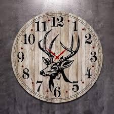 <b>Часы круглые настенные</b> из <b>дерева</b> — купить по цене 3500 руб в ...
