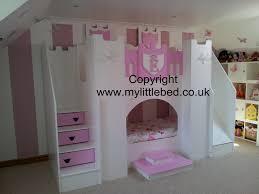 Princess Bedroom Furniture Uk Princess Bunk Bed With Slide Design Bunkbeds Ideas Beds Stairs Ins