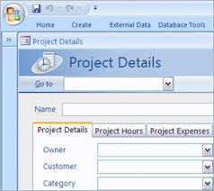 Using Microsoft Access Template For Creating Database