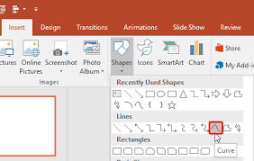 How to straighten horizons and draw straight lines creative. Drawing Curved Lines In Powerpoint 2016 For Windows