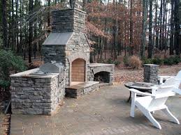 popular outdoor fireplace and grill furniture design ideas inside