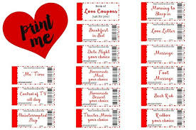Ideas For Boyfriend Coupons Free Printable Love Coupons The Perfect Gift 21 Flavors Of Splendor