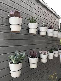 vertical garden wall hanging pot