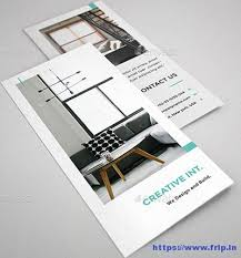 Interior Design Brochure Template Extraordinary 44 Best Interior Design Brochure Templates 44 Fripin