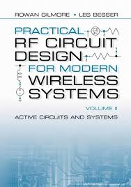 Rf Circuit Design Bowick Practical Rf Circuit Design For Modern Wireless Systems Vol