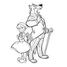 Leuk Voor Kids Roodkapje En De Boze Wolf
