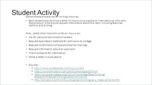 Grant Letter Of Inquiry Template Com Writing Sample