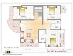 design home plans indian home design with house plan 2435 sq ft