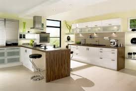 ... Kitchen, White Rectangle Modern Wooden Top Kitchen Designs Stained  Design For Kitchen Design Gallery With ...