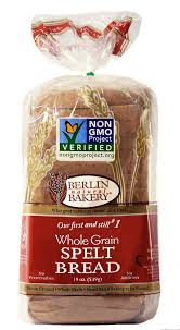 Finding the healthiest bread just got a whole lot easier. Spelt Bread Whole Grain Berlin Natural Bakery
