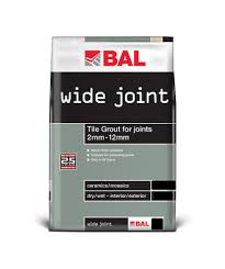Bal Wide Joint Grout Grey 3 5kg