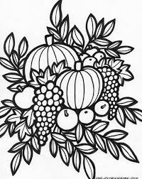 Fall Flowers Coloring Pages At Getdrawingscom Free For Personal