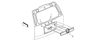 Repair instructions liftgate center applique replacement
