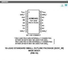 Adm2483Brwz Adi New And Origional Sop 16+(Half-Duplex, Icoupler ...