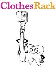 Small Picture Printable Dental Coloring Pages Kids Dental Health Pinterest
