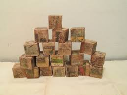 antique childrens wood blocks omero home