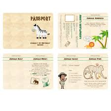 Free Passport Template For Kids Designs Passport Invitation Template Psd Together With Passport 73